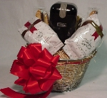 Coffee Gift Basket with Grinder