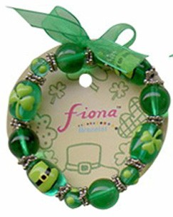 Stretch Bracelet Shamrock Hat