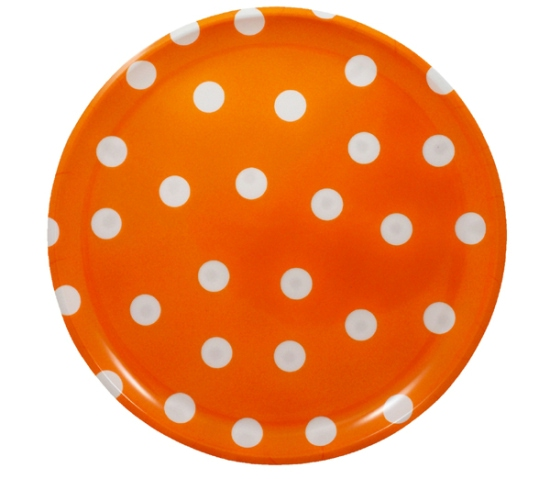 Two Lumps of Sugar -Polka Dots Melamine Platters