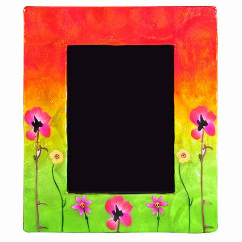 Pansy Sunset Frame