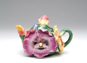 Pansy Tea Pot